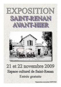 Affiche - Saint Renan Avant-Hier