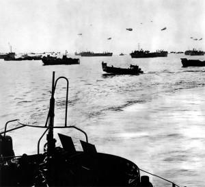 La flotte de débarquement est signalée