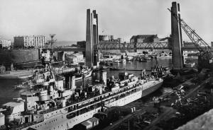 Brest Arsenal pont Recouvrance