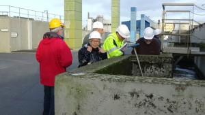 Visite station d'épuration de Brest